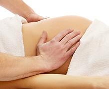 Zwangerschaps Massage